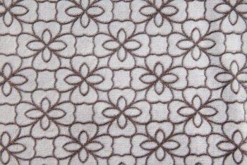 Flower Outline braun