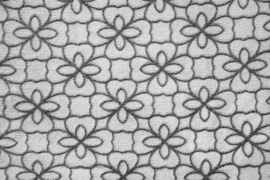 Flower Outline schwarz