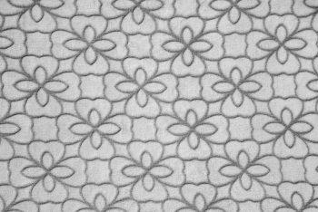 Flower Outline grau